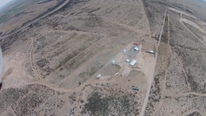 Aerial View of Range